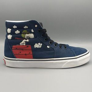 Vans Sk8 Hi Peanuts Flying Ace Snoopy Unisex